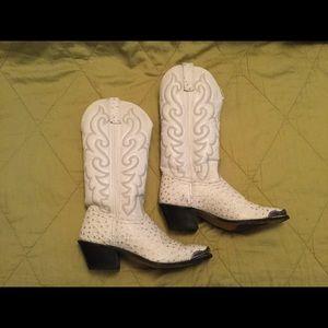 Shoes - Vintage Women's Western cowboy boots, sz 6M.